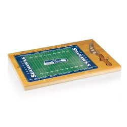 Nfl Seattle Seahawks 3-Piece Icon Cheese Set