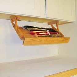 Ultimate Kitchen Storage Under Cabinet Knife Rack (Unfinished) *Valentines Day Sale*