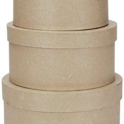 """Paper Mache Round Box Set - 8"""", 9"""" And 10"""" *** Product Description: Paper Mache Round Box Set - 8"""", 9"""" And 10"""". Fill These Boxes With Silk Or Dried Flowers, Use Them As Cookie Or Candy Containers For Gifting Or Create A Memory Box Like No Other. ***"""