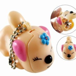 Gosear Cute Doggy Key Chain Ring Finger Nail Clipper Cutter Manicure