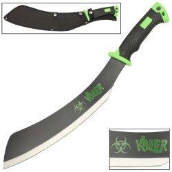 Head Buster Zombie Killer Apocalypse Parang Chopping Rugged Machete Knife