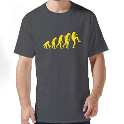 Nice Evolution Karate Kid Mens T Shirt