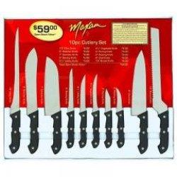 New - 10Pc Maxam Cutlery Set By Maxam