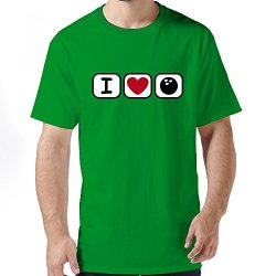 Ideal Love Bowling Mens T Shirts
