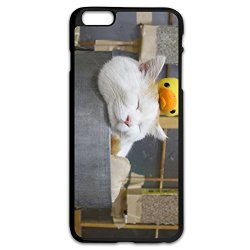 Perfect Lazy Cat Pc Case Cover For Iphone 6 Plus