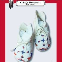 *Child'S Moccasins Pattern