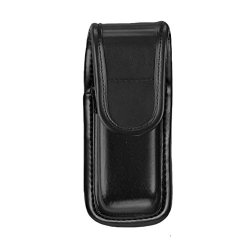 Bianchi 7903 Pln Black Single Mag/Knife Pouch With Hidden (Size 2)