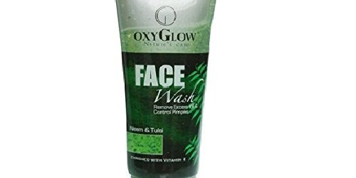 Oxyglow Neem and Tulsi Face wash