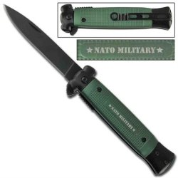 Striker Spring Assisted Knife - Nato Green Berets