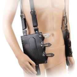 Leather Throwing Knife Holder Holds Six Pieces M2313