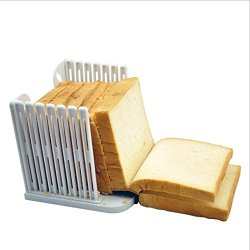 Znu New Kitchen Homemade Bread Loaf Slicer Slicing Cutter Cutting Slices Guide Tool