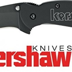 Kershaw Scallion Black 1620H3 New Version Speed Safe Assisted Opening Knife Made In Usa
