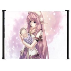 """Record Of Agarest War Game Fabric Wall Scroll Poster (42""""X30"""") Inches"""