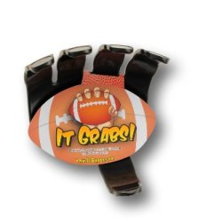 It Grabs Football Sports Ball Holder (Black) Hand Claw
