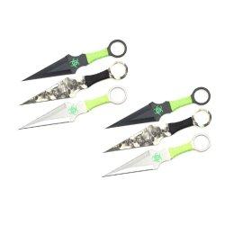 9 Inch 3Pcs Set Zombie Throwing Knife Biohazard A8033-3-Astd