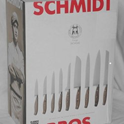 Schmidt Brothers 16 Piece Knife Set With Knife Block And 2 Stage Sharpener
