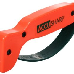 Accusharp 014C Knife Sharpener, Blaze Orange