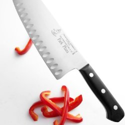 Messermeister Park Plaza 7-Inch Vegetable Knife With Hollows