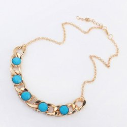 Tricess Women'S Fashion Gem Necklace Gift
