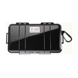 Pelican 1060 Watertight Hard Micro Case With Rubber Liner - Black
