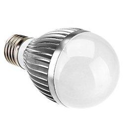 E27 5W 400Lm 3500K Warm White Led Candle Bulb(110-220V)