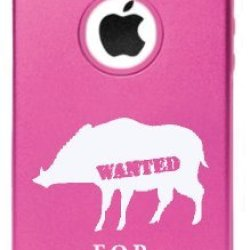 Iphone 6 Wanted For Invading Back Yards Feral Pigs Boars Aluminum And Silicone Case