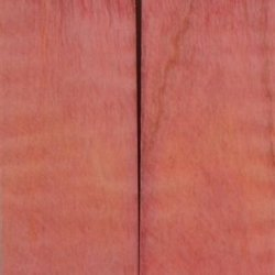 "Maple Curly Stabilized Pink 2 Pc Knife Scale 3/16""X1 1/2""X5"" Nk4"