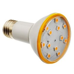 E27 3.5 W 12 X5050Smd Lm 3000 K, 216-240 The Warm White Led Bulb Sizes (200-240 - V)