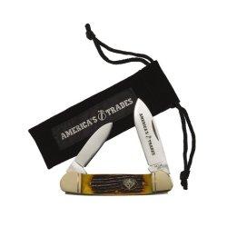 America'S Trades Classic 2-Blade Pocket Knife