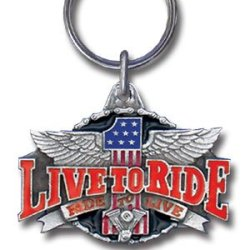 Key Ring - Live To Ride Key Ring - Live To Ride
