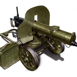 Icm Models Soviet Maxim Machine Gun 1941 Kit