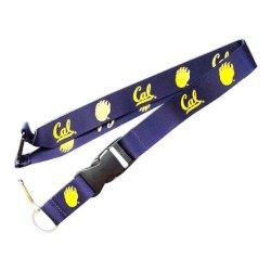 Cal Berkeley Bears Clip Lanyard Id Ticket