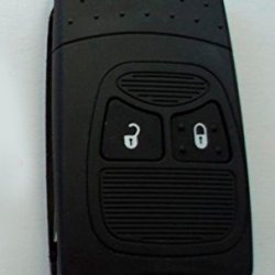 2 Button Flip Key Case Upgrade For Chrysler, Dodge, Jeep Remote Key Fob