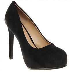 Kelsi Dagger Linzy Womens Size 10 Black Black Regular Suede Platforms Shoes