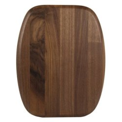 "Luxe Grip Wood Cutting Board In Walnut Size: 11.5""X14.5"""