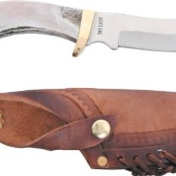 Silver Stag Mountain Edge Fixed Blade Knife