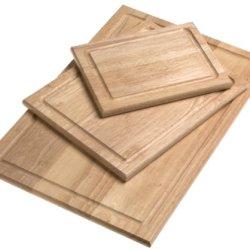 Farberware 3-Piece Wood Cutting Board Set