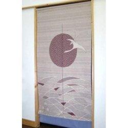 Made In Japan Noren Curtain Tapestry Hawk Desigin