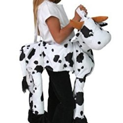 Plush Animal Western Cow Costume Farm Play Dress Up