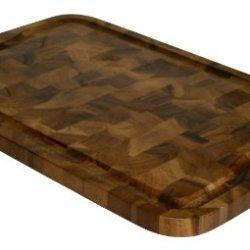 Mountain Woods 24 X 16 Professional End Grain Acacia Cutting Board W/ Juice Groove