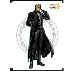 Marvel Vs Capcom 3 Wesker Game Fabric Wall Scroll Poster (32X42) Inches