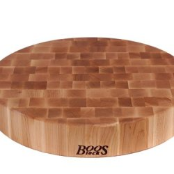 John Boos 18-Inch Round Maple  Chopping Block