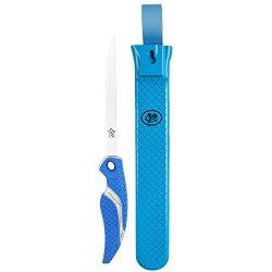 Cuda 6-Inch Knife And Sheath Set (2-Piece), Blue