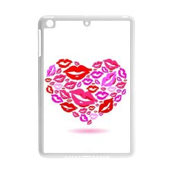 Diy Personalized New Custom Cute Cartoon Sexy Red Kiss Lips Lipstick Pattern Design Cell Phone Case Cover For Apple Ipad Mini Case Ipad Mini 2 Case Hard Plastic Mobile Phone Case Protective Shell