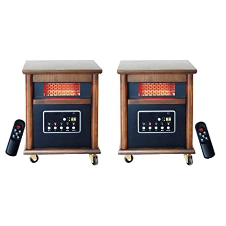 Enjoy the benefits of zone heating with 2 Lifesmart Life Pro Infrared Heaters. This 2 pack features 2 of our 4 Element Heaters each designed to heat a medium to large room. The 2 pack allows you to keep one heater in the living room and one in anothe...