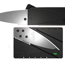 Iain Sinclair Cardsharp Version 2 Credit Card Folding Knife Silver Blade
