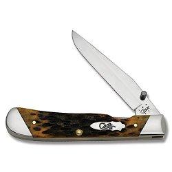 Case Cutlery 51382 Autumn Bone Trapperlock