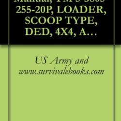Us Army, Technical Manual, Tm 5-3805-255-20P, Loader, Scoop Type, Ded, 4X4, Articulated Frame Steer; 4 1/4 To 5 Cu Yd (Cce), Army Model H100C Rb Type 1 ... General Purpose Bucket (3805-01-052-9043)
