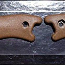 Ka-Bar Bk-16 Handles (Brown)