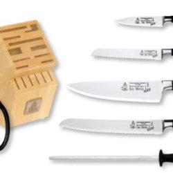 Messermeister San Moritz Elite 7-Piece Knife Block Set